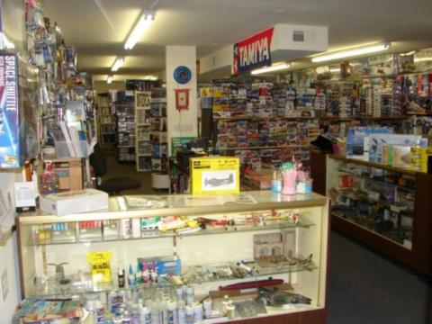 Military Hobbies Shop View
