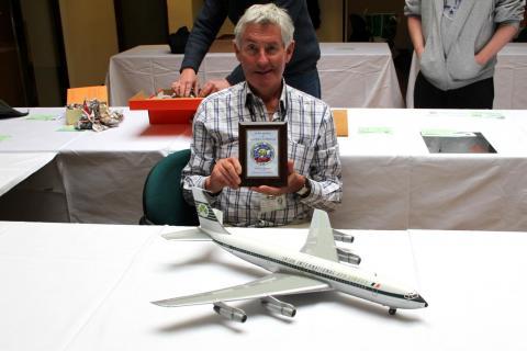 Mr Ray Flynn with Award