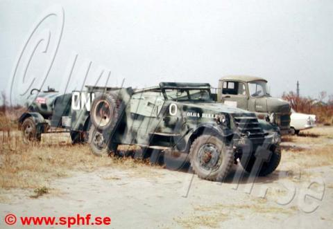 Actual Swedish M3 Scout car