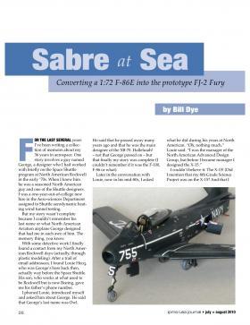 Sabre at Sea
